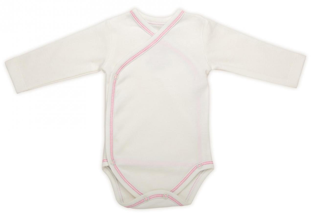 Body bebé algodón orgánico rosa The Dida World My natural baby box