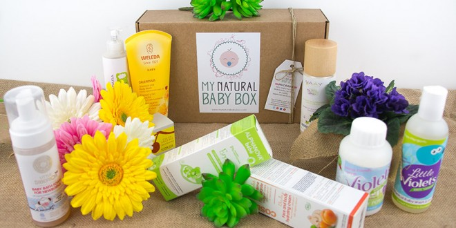 Canastilla mensual de cosmética natural y bio para bebés y niños