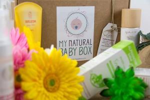 Cajita personalizada de cosmética natural y bio para bebés y niños
