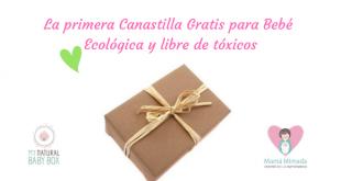 canastilla gratis para bebé ecológica y libre de tóxicos de Mamá Mimada y My natural baby box