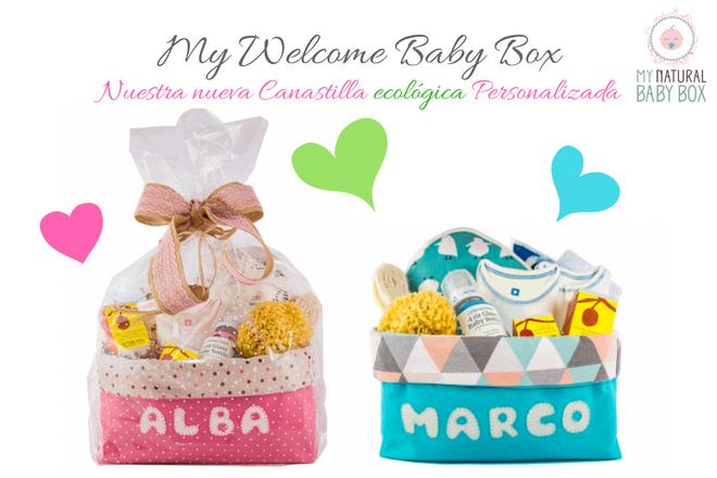 canastilla bebe personalizada My Welcome Baby box