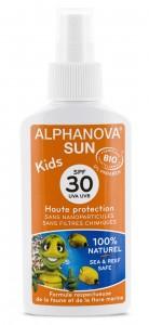 Protector solar ecológico para niños SPF 50 y SPF 30 Alphanova Sun