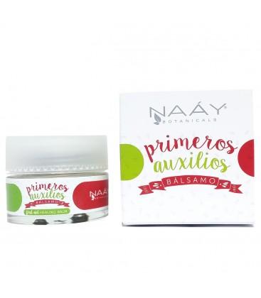 balsamo primeros auxilios para bebés de naay botanicals