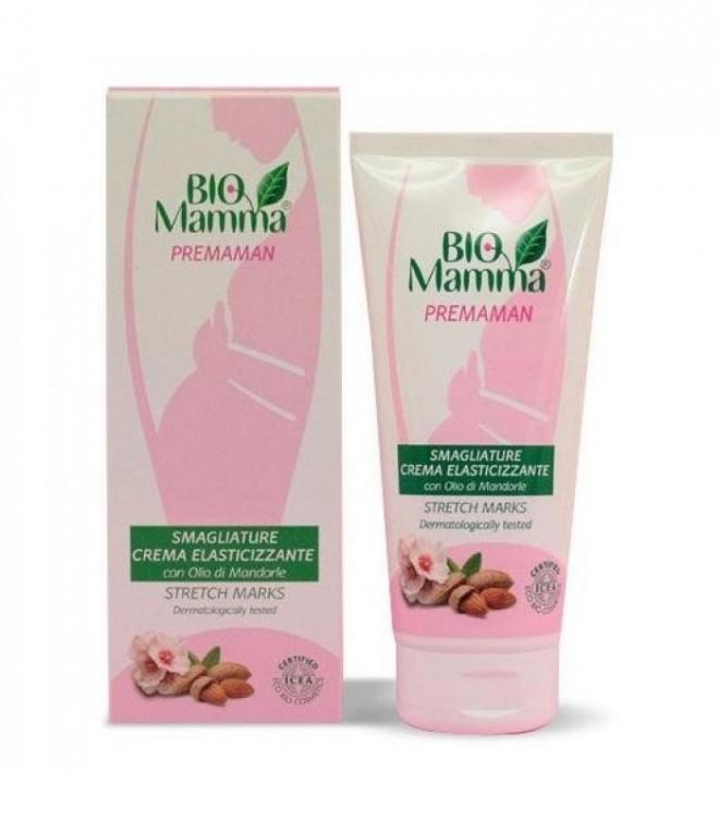 Crema antiestrías para embarazada ecológica de Biomamma