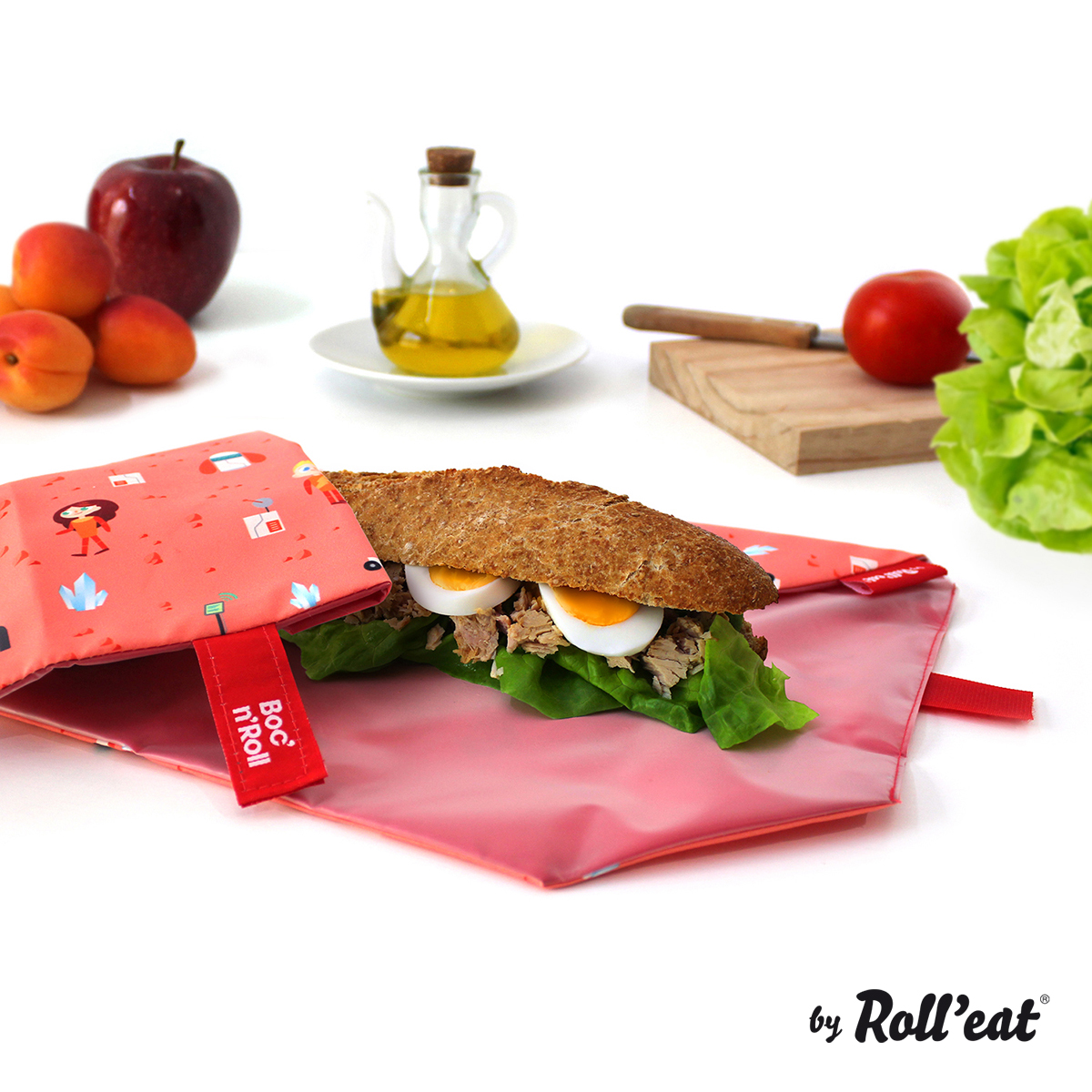 vuelta al cole bocnroll-kids-space-sandwich-rolleat