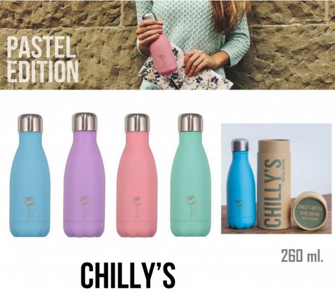 botella-termica-chilly-lila-pastel-500ml vuelta al cole my natural baby box