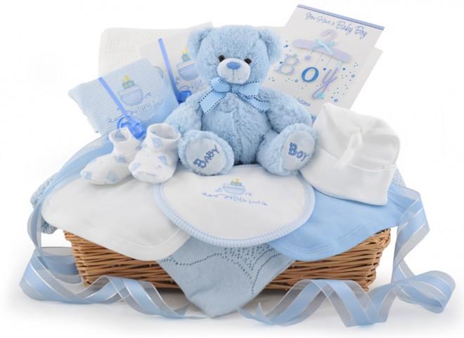 canastilla de regalo para bebé