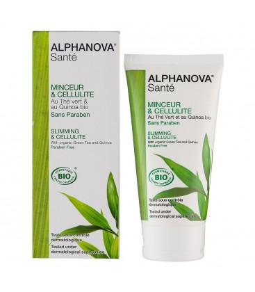 crema reductora anticelulítica compatible con la lactancia de alphanova sante