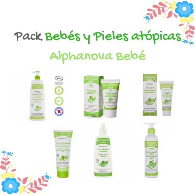 pack regalo bebe piel atopica alphanova